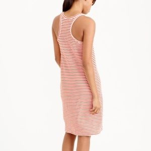 J Crew Stripe Racerback Midi Dress | Large